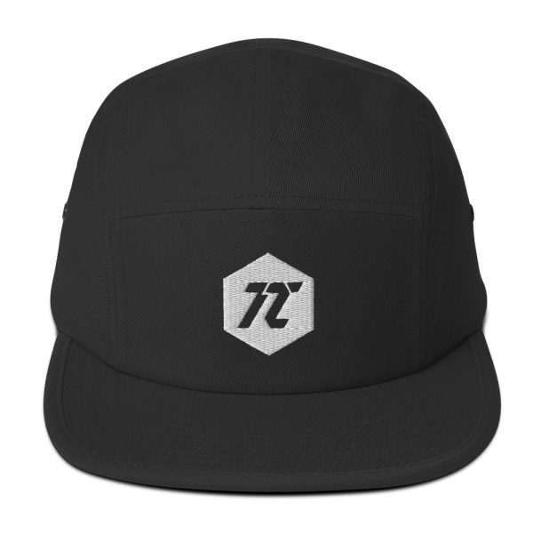 T2 Visuals Logo  - Five Panel Hat